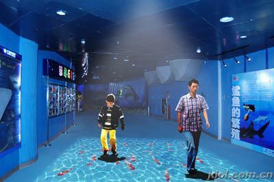 壁纸 海底 海底世界 海洋馆 水族馆 400_266